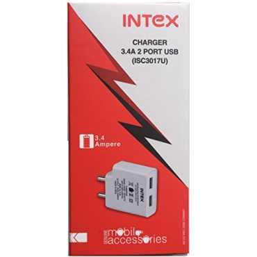 Intex ISC3017U 3 4A 2 Port USB Wall Charger