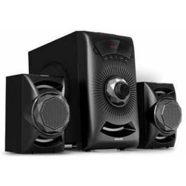 Philips MMS2143B/94 2.1 Channel Multimedia Speaker - Black