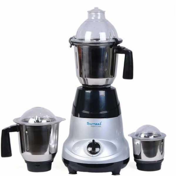 Sumeet Sanghini 750W Juicer Mixer Grinder(3 Jars)
