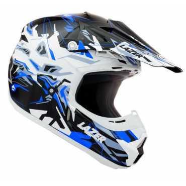 Lazer X7 Magic Motocross Helmet (Large) - White