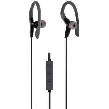 Zebronics ZEB-BE350 Extra Bass In Ear Headset - Black   Grey