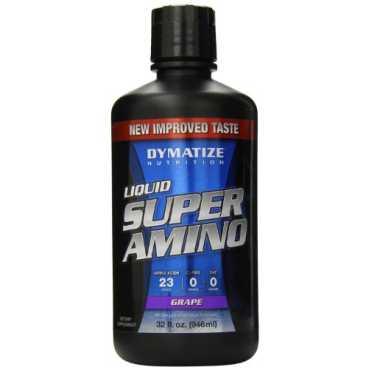 Dymatize Nutrition Liquid Super Amino (946ml, Grape)
