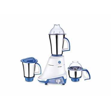 Preethi Splendor 750W Mixer Grinder - White And Blue