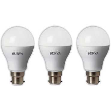 Surya Neo 5W LED Bulb (White, Pack Of 3) - White
