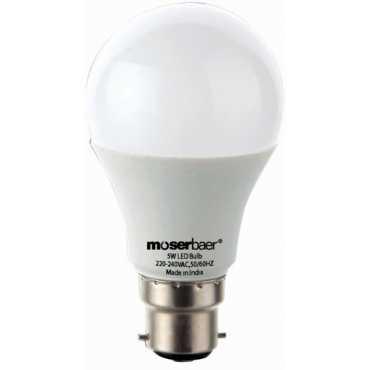 Moserbaer 5 W LED bulb (Cool White) - White