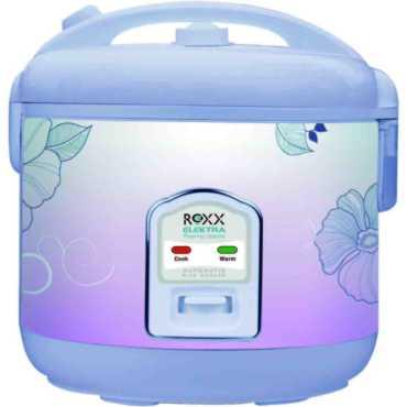 Roxx Poise 1.8 Litre Electric Rice Cooker - Black