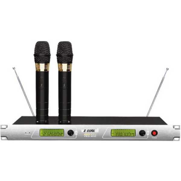 5core 811 Wireless Microphone - Silver