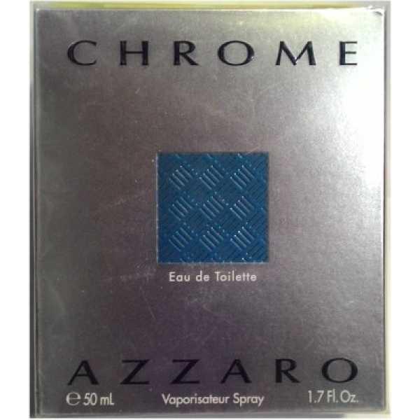 Azzaro Chrome EDT -50 ml - Silver