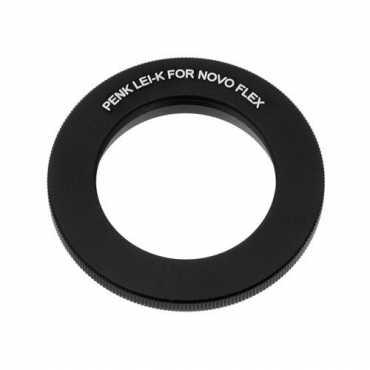 Fotodiox 10LA-Novo-PK Lens Mount Adapter (Novoflex Fast-Focusing Rifle Lens (Photosniper) to Pentax)