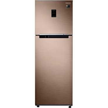 Samsung RT37M5538SL/HL 345 L 3 Star Inverter Frost Free Double Door Refrigerator - Steel