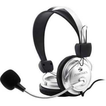 Zebronics ZEB-1001HMV  Headset - Silver