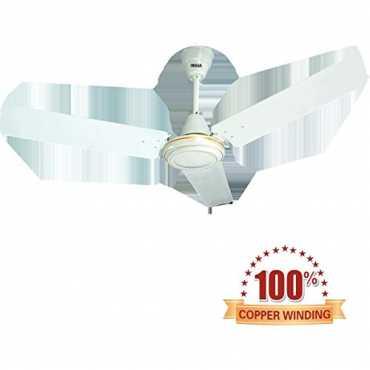 Inalsa Sameer 3 Blade (1200mm) Ceiling Fan - White | Brown
