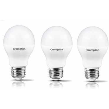 Crompton Led Pro 7W Standard E27 600L LED Bulb (White,Pack of 3) - White