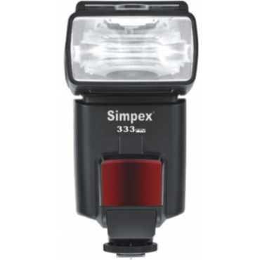 Simpex 333 Semi TTL Flash - Black