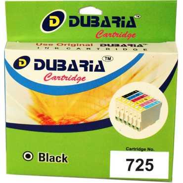 Dubaria 725 Black Ink Catridge - Black