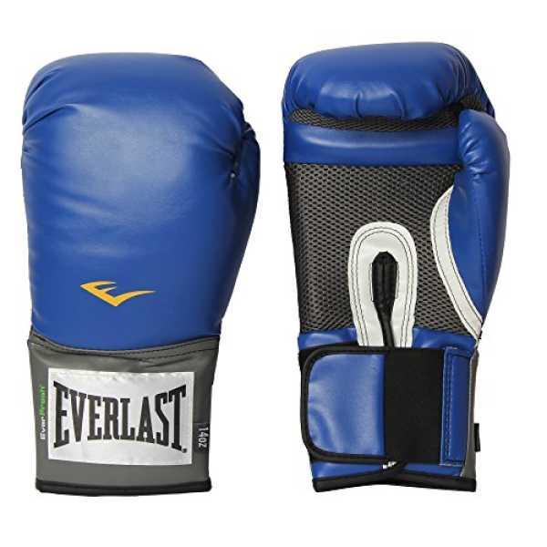 Everlast 1200011 Pro Style Training Gloves 14 Oz - Blue