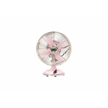 Anemos Retro Metal Table Fan - Pink | Blue