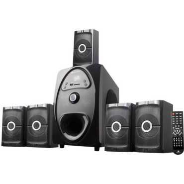 Zebronics Tonic 5.1 Channel Multimedia Speaker - Black