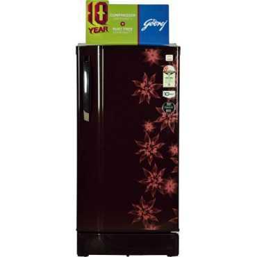 Godrej RD Edge 185 CT 2.2 185L Single Door Refrigerator (Berry Bloom)