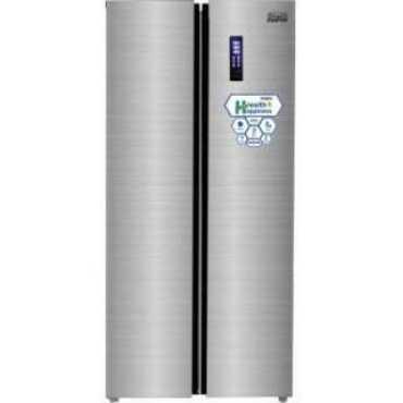 Mitashi MiRFSBS1S510v20 510 L Inverter Frost Free Side By Side Door Refrigerator