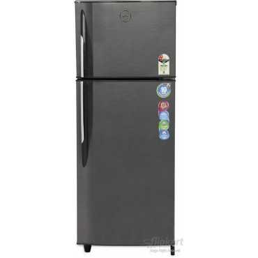 Godrej RT EON 260 P 2.3 260 Litres Double Door Refrigerator  (Silver Strokes) - Silver