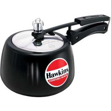 Hawkins Contura Black CB30 Aluminium 3 L Pressure Cooker Inner Lid