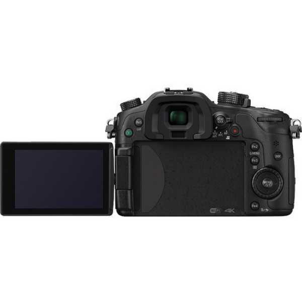 Panasonic Lumix GH4K with 12-35 F2 8 lens
