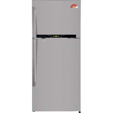 LG GL-T522GNSL 470 Litre Double Door Refrigerator - Silver