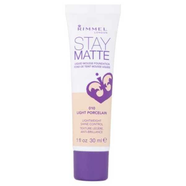 Rimmel Stay Matte Foundation (Light Porcelain)