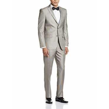 Men's Slim Fit Suit (8907153927999_LPSU1M00151_96_Light Brown)