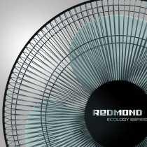 Redmond RAF-5007 55W 3 Blade Pedestal Fan - Black