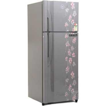 Godrej RT EON 311 P 3.4 3S (Silver Meadow) 311 Litres Double Door Refrigerator - Silver