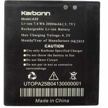 Karbonn 2000mAh Battery (For Karbonn A25)