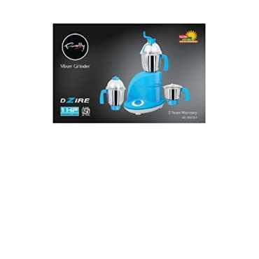 Rally Dzire Mixer Grinder (3 Jars) - Blue