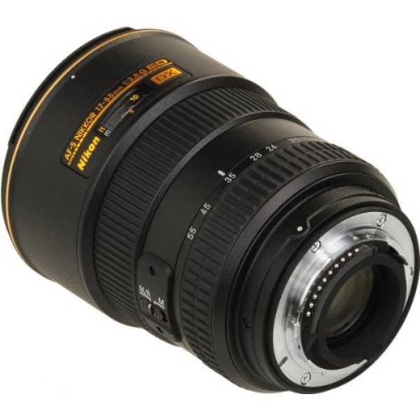 Nikon 17-55mm f/2.8G IF-ED AF-S DX Zoom-Nikkor DX Lens