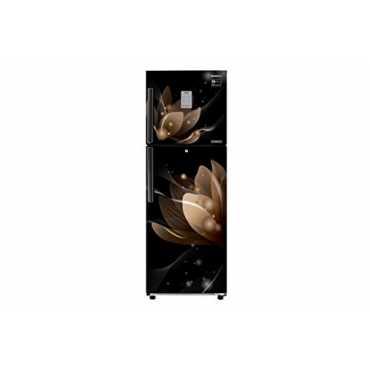 Samsung RT28N3923B8/HL 253 L 3 Star Inverter Frost Free Double Door Refrigerator (Saffron) - Black | Blue