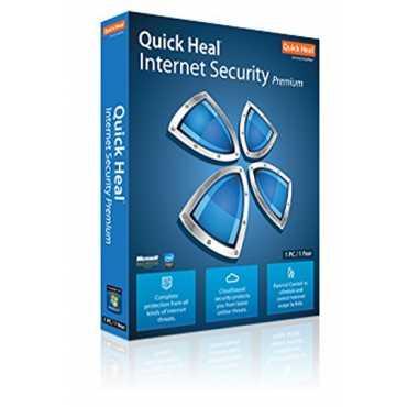 Quick Heal Internet Security Premium 2PC 1 Year Antivirus