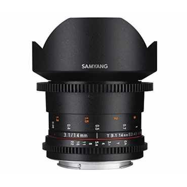 Samyang 14mm T3 1 ED AS IF UMC VDSLR Lens For Canon
