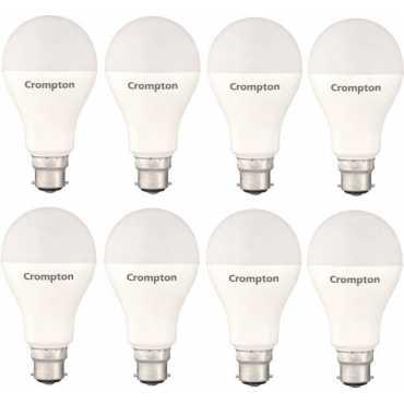 Crompton 14W Standard B22 1400L LED Bulb (White,Pack of 8) - White