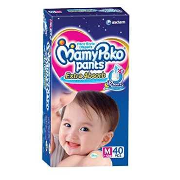 Mamy Poko Pants Extra Absorb Medium (40 Pieces)