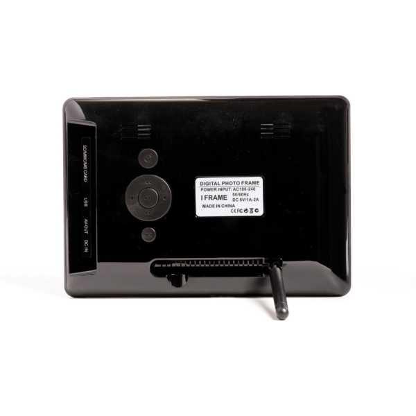 XElectron 700PS-W  Digital Photo Frame - Black