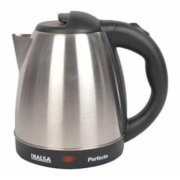 Inalsa Perfecto 1.5L Electric Kettle - Black | Silver