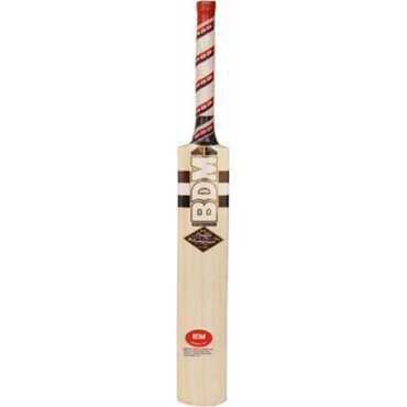 BDM Players Autographs Kashmir Willow Cricket  Bat (Short Handle)