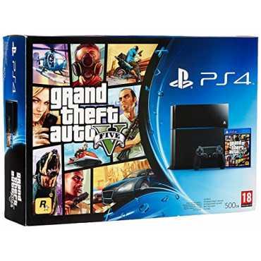 Sony PS4 500GB GTA V Bundle - Black