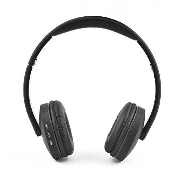 Ambrane  Wireless Bluetooth Headphones WH-5600 With Mic - Black