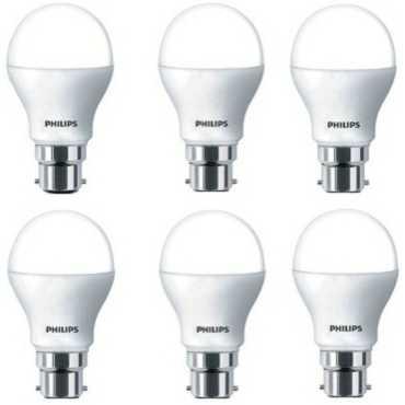 Philips 14 W B22 Base 1260L White LED Bulb (Pack of 6) - White