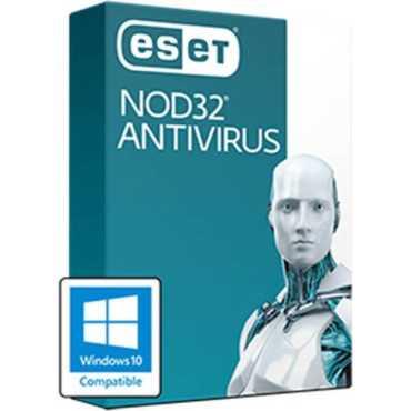 Eset NOD32 Antivirus 2017 10 PC 1 Year Antivirus