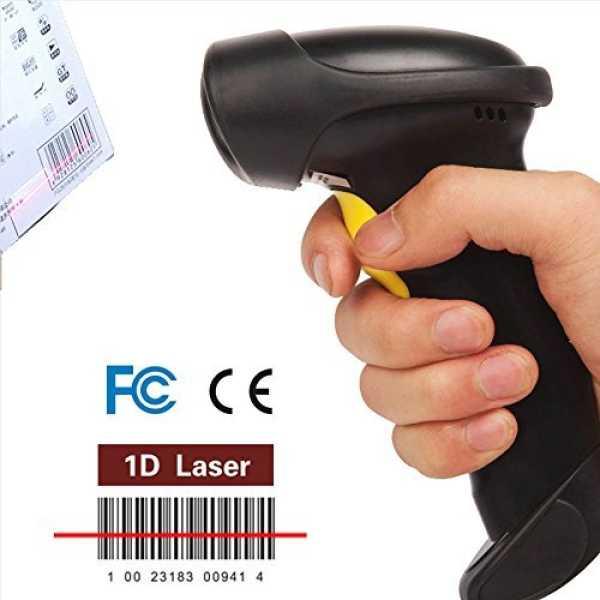 Afanda CT007S 2.4G Wireless Barcode Scanner