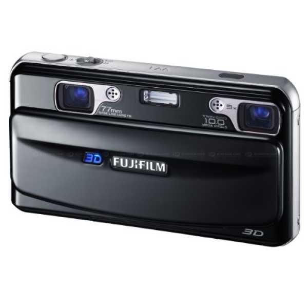 Fujifilm Finepix Real 3D W1 Digital Camera - Black
