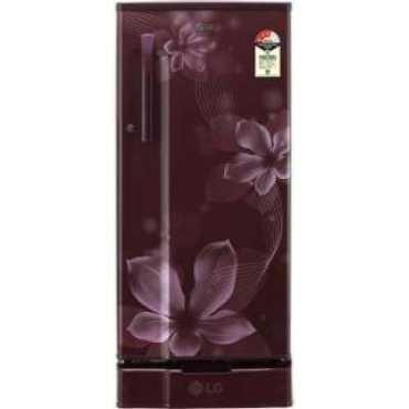 LG GL-D191KSOW 188 L 3 Star Direct Cool Single Door Refrigerator